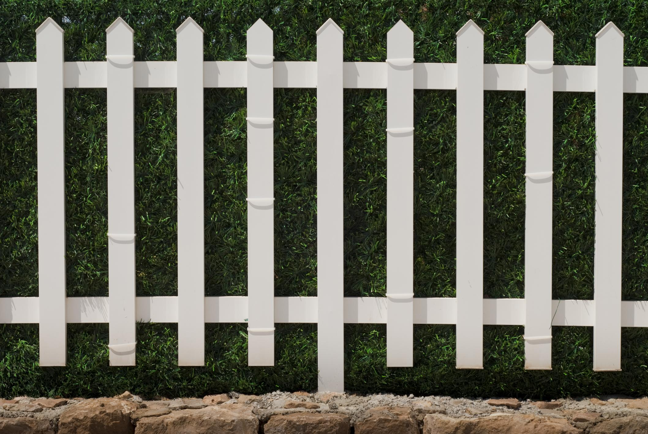 This is a picture of a fencing services.